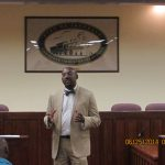 Irondale City Clerk Holds First Town Hall Meeting