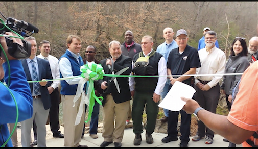 New Grants Mill Road Canoe Launch Featured On Fox 6