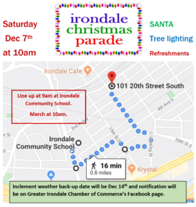 Irondale Christmas Parade 2020 Irondale Christmas Parade   City of Irondale